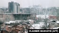 Dağıdılmış çeçen şəhəri