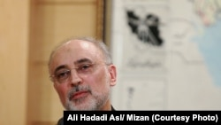 The head of the Iranian Atomic Energy Organization, Ali Akbar Salehi