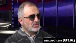 Ալեք Ենիգոմշյանը «Ազատություն TV»-ի տաղավարում, Երևան, 3-ը փետրվարի, 2015թ.