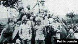 Британские солдаты в Индии