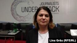 Natalia Radzina, la conferința OSCE de la Viena