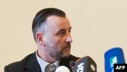 Pegida-ның отставкаға кеткен басшысы Лутц Бахман. Дрезден, 19 қаңтар 2015 жыл.