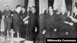 Prisega vlade NDH, travanj 1941.