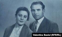 Cu soția Polina în 1955