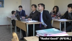 Many of the stuck Tajik students study in Russia.
