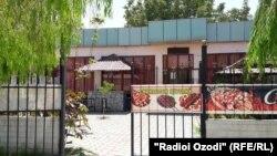 Ресторан в Курган-Тюбе, в котором был убит Буенков