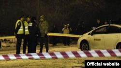 Місце вибуху у Харкові (фото з сайту МВС)