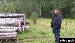 Лесозаготовитель Владимир Швецов