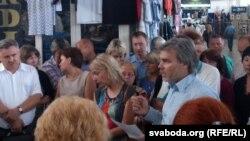 Страйк підприємців у Мінську, 28 червня 2013 року