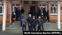 Ученики школы №34, Владикавказ