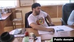 Блогер Ермек Тайчибеков.