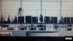 تصویری منتشرشده در خبرگزاری رسمی دولت ایران از محمولهای کشفشده از انسان در میان بار یک کامیون