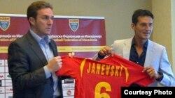 Чедомир Јаневски, нов селектор на фудбалската репрезентација на Македонија.
