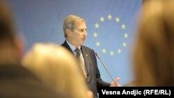 Եվրոպական հարևանության քաղաքականության և ընդլայնման բանակցությունների հարցերով հանձնակատար Յոհաննես Հան, արխիվ