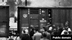 Латви -- Махках даьккхина адам Сибрех дIадуьгу цIерпошт, 1941