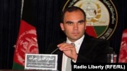 اسلام الدین جرأت سخنگوی وزارت مهاجرین و عودت کنندهگان افغانستان