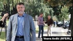 Veran Matić ispred Specijalnog suda u Beogradu