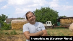 Владимир Балух, село Серебрянка, июль 2016 года