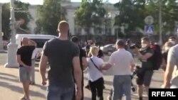 ბელარუსში 100-ზე მეტი ადამიანი დააკავეს ოპოზიციის აქციებზე