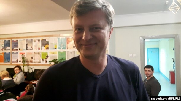 Ігар Кузьмініч, вядоўца курсаў «Мова Нанова»