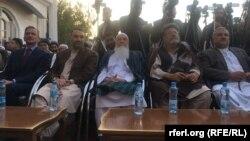 عطا محمد نور والی بلخ با محمد اسماعیل خان وزیر پیشین انرژی و آب افغانستان