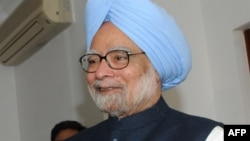 Kryeministri i Indisë, Manmohan Singh.
