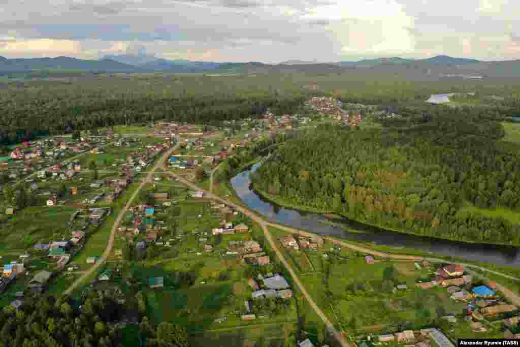 This is Petropavlovka, an isolated community in the Siberian taiga that is home to about 5,000 people.