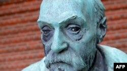 Скульптурная выява Альфрэда Нобэля