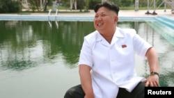 >imali Koreya lideri Kim Jong Un.