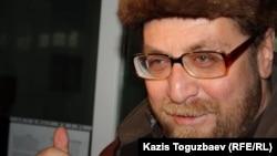 Андрей Свиридов, құқық қорғаушы, журналист. Алматы, 19 наурыз 2012 жыл.