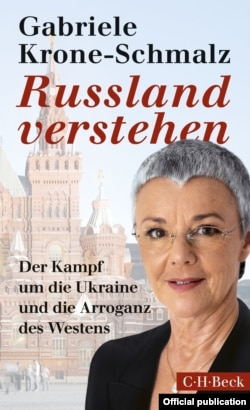 Germany - cover of a book on Russia & Putin by Gabriele Krone-Schmalz