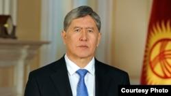 Президент КР Алмазбек Атамбаев.