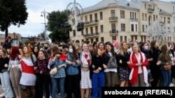 Протесты в Беларуси. 1 сентября 2020 года