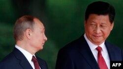Xi Jinping və Vladimir Putin