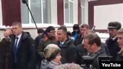 Встреча пенсионерки и Дмитрия Медведева на Алтае