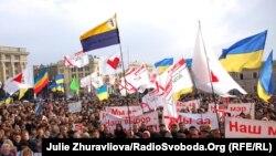 Прихильники опозиції вимагають перерахунку голосів або проведення нових виборів у Харкові