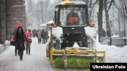 Снігопад в Києві, архівне фото