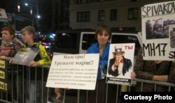 Протест против концерта Спивакова в Карнеги-холл