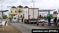 Türkmenistanyň we Özbegistanyň arasyndaky serhet geçelgesi