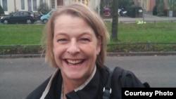 Марго Шмит, директорка на Холандско-фламанската асоцијација за истражувачко новинарство.