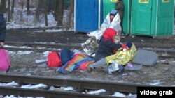 Izbeglice u Preševu (arhivska fotografija)