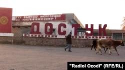 Баткендеги кыргыз-тажик чек арасындагы аймак.