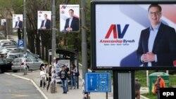 Fushata parazgjedhore në Serbi