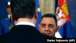 Ministar odbrane Srbije Aleksandar Vulin