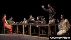 Театарската претстава Духот на слободата во Народниот театар во Куманово.