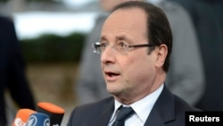 Франция президенті Франсуа Олланд. Брюссель, 13 наурыз 2013 жыл.