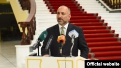 FILE: Former Afghan national-security adviser Mohammad Hanif Atmar