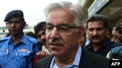 Пәкістан қорғаныс министрі Хаваджа Мухаммад Асиф.