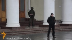 Russian Troops Surround Simferopol Airport