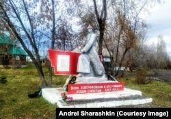 Egy szovjetkori emlékmű Novocsernorecsenszkijben